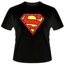 Camiseta Super Homem Superman Batman Capitão America Nirvana