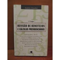Livro Revisão De Benefícios Cálculo Previdenciários Claudini