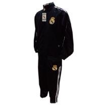 Conjunto Agasalho Real Madrid (em Nylon)