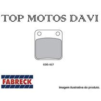 Pastilha Freio Quadriciclo Fabreck Trx 400 Fourtrax