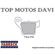 Pastilha Freio Fabreck Traseira Honda Cr Crf 125 250 450
