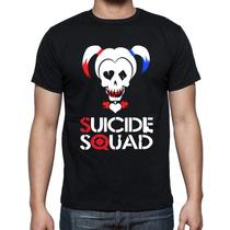 Blusa Esquadrão Suicida - Arlequina