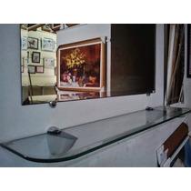 Espelho Bisotê 100x90cm+ Aparador/ Ferte Só P/ Gd. S. Paulo