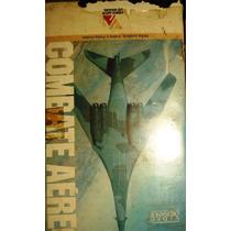 Vhs Original Combate Aéreo Aviões E Porta-aviões