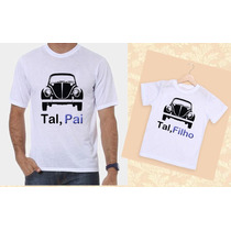 Kit Camisetas Tal Pai, Tal Filho Fusca