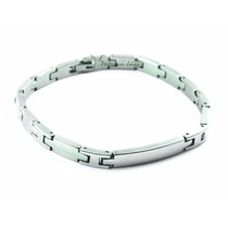 Pulseira/corrente/bracelete/algema Masculina Aço Achille