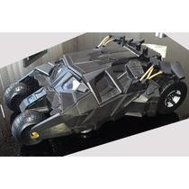 Raro Batmovel Tumbler 34cm Articulado Bat-pod Batman Dc Hw