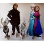 4 Display De Chão Frozen Totem Painel Cenário