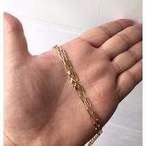 Corrente Masculina De Ouro 18k Cartier Longa 60 Cm 3mm 4,1gr