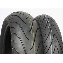 Pneus Michelin Road 2 120+190 R1 S1000rr F4 Zx10 Zx14 Z1000