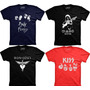 Camisetas Banda De Rock Pink Floyd Led Zepplin Bon Jovi Kiss