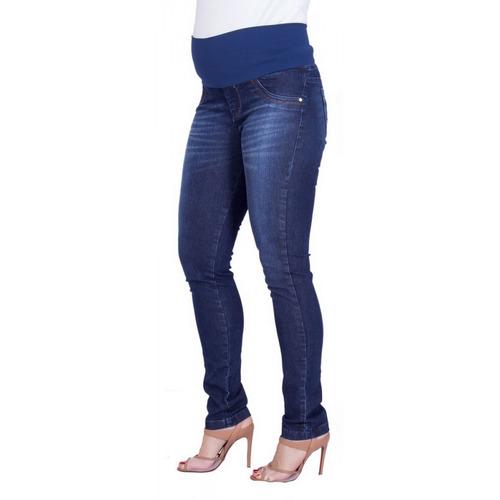 Calça Jeans Gestante Reta Suely