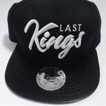 Boné Last Kings Aba Couro Sintetico - A Pronta Entrega