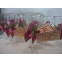 100 Lembrancinha Mini Taça Em Acrílico Para Casamento