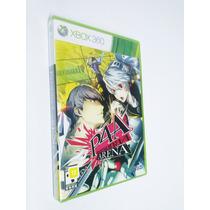 Persona 4 Arena - Xbox 360 - Lacrado - Americano