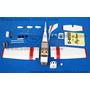 Kit Cessna 182 Para Motores Glow 15 Ou Eletrico Em Balsa
