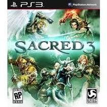 Sacred 3 Ps3 - Em Inglês - Codigo Psn - Zell Games