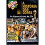 Dvd A História Das Copas Vol. 2 Milton Neves - Novo Lacrado