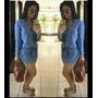 Vestido Jeans , Atenção O Prazo De Envio 25 Dias!!!