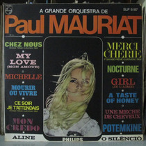 Lp Paul Mauriat A Grande Orquestra