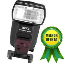 Flash Speedlite Canon Meike Mk600 Yongnuo Yn-600ex-rt Hss