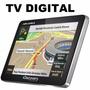 Gps Discovery Channel 4.3 Slim Aquarius Touch + Alerta Radar