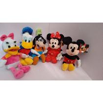Kit Disney Com 3 A Sua Escolha Minie Mickey,donal,pateta,