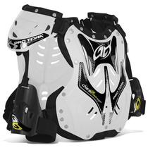 Colete Proteçao Pro Tork 788 Trilha Enduro Motocross Branco