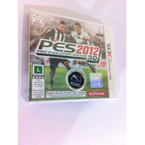 Pes 2012 Pro Evolution Soccer - 3ds - Lacrado - Americano