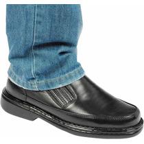 Sapato De Pelica Anti Stress Anatômico Conforto Diabéticos