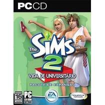 Jogo Pc - The Sims 2: Vidada De Universitário- 2cds Original