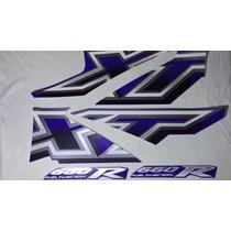 Adesivo Xt660 R 2005/06 Azul, Faixa Original Completa