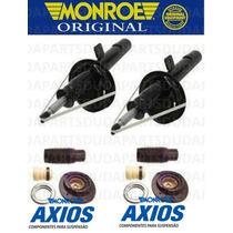 Amortecedor + Kit Batente 206 207 - Original Monroe Axios