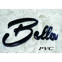 Letras Caixa Letreiro Manuscrita Logos Pvc 5mm X 15 Cm Altur