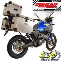 Kit Bauleto Traseiro + Lateral + Suporte Tenere 660 Escovado