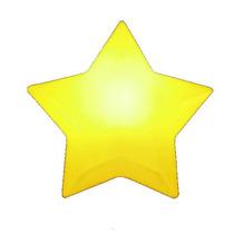 Luminária / Abajur Estrela Amarela. Linda! Pronta Entrega!