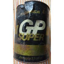 Lata Antiga Óleo Lubrificante G P Super - Ipiranga - A8