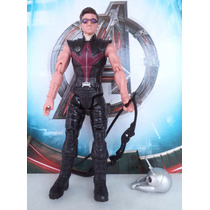 Boneco Marvel Hawkeye Arqueiro Coleç. Avengers Age Of Ultron