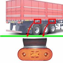 Lanterna Lateral Com Led Bivolt Para Carreta/caminhão Unidad