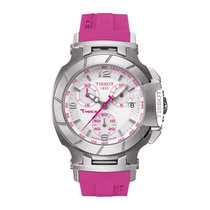 Relógio Feminino Tissot Rosa Relógio T Garantia Frete 12 X