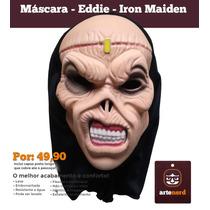Máscara Fantasia Halloween - Eddie Iron Maiden