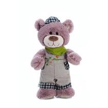 Urso Pintor De Pelucia 46cm Frete Gratis