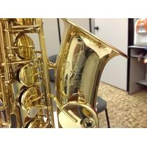 Saxofone Alto Selmer Super Action Série Ii Case Frete Grátis