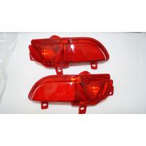 Conjunto Par De Lanterna Neblina Traseira Peugeot 207 Hatch