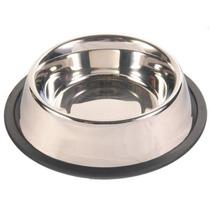 Comedouro Para Cães E Gatos Em Aço Inox 225ml Western Pet160