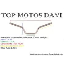 Guidão Moto Dafra Speed Cromado Sem Fixa Peso - 3723
