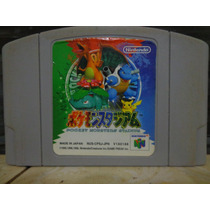 Pokemon Pocket Monsters Stadium Jogo Original Japonês P/ N64
