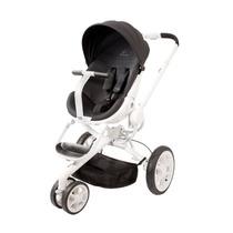 Carrinho De Bebê Quinny Moodd Stroller - Preto C/ Branco