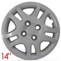 Jogo Calota Aro 14 Fiesta Sedan 11 12 13 Parafuso Cubo Baixo