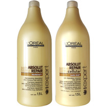 Kit Loréal Absolut Repair Shampoo 1,5l + Condicionador 1,5l